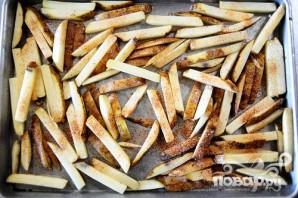 Говядина с картофелем-фри и соусом - фото шаг 1
