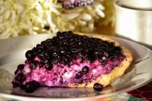 Пирог с творогом и ягодами - фото шаг 5