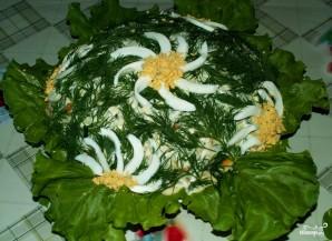 Рыбный салат из консервов с рисом - фото шаг 12