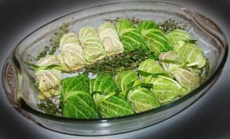 Голубцы из савойской капусты - фото шаг 6