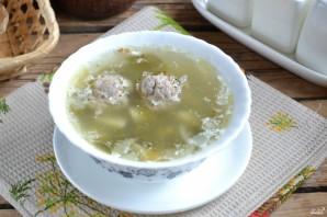 Суп щавелевый с фрикадельками - фото шаг 10