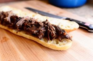 Сэндвичи с ребрышками - фото шаг 9