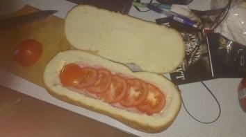 Мужской бутерброд - фото шаг 4