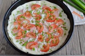 Пицца на лаваше в духовке - фото шаг 4