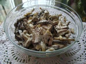 Салат с печенью белорусский - фото шаг 7