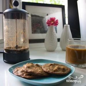 Печенье с фундуком и эспрессо - фото шаг 7