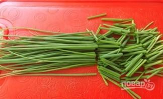 Стручковый горох с овощами - фото шаг 2