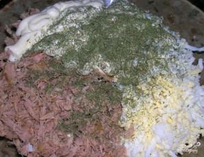 Корзиночки с салатом - фото шаг 10