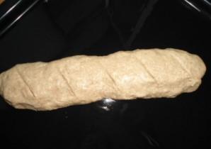 Хлеб из цельнозерновой муки без дрожжей - фото шаг 4