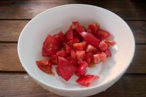 Салат с фетой и курицей - фото шаг 1