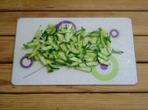 Салат зеленый - фото шаг 6