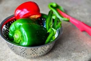 Салат с перцем и манго - фото шаг 2