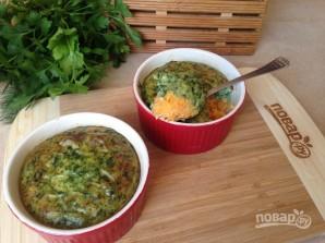 Морковно-шпинатное суфле - фото шаг 11
