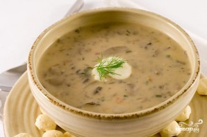 Грибной суп с маслятами - фото шаг 10