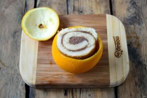Цинамоновые роллы в апельсиновой корке - фото шаг 3