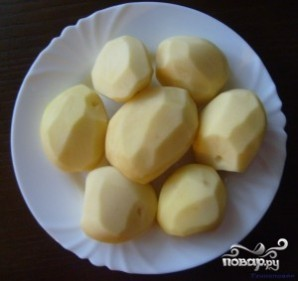 Тефтели с картошкой в мультиварке - фото шаг 1
