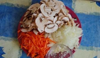 Постная гречка с грибами - фото шаг 2