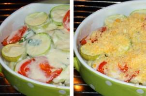 Овощи, запеченные под соусом - фото шаг 2