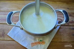 Крем-суп из кабачков с лисичками - фото шаг 9