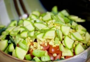 Салат из курицы с грибами - фото шаг 4
