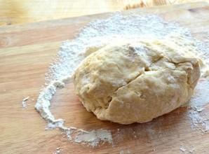Тесто на молоке без дрожжей - фото шаг 6