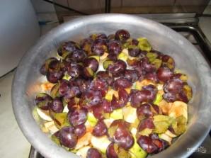 Варенье из сливы, яблока и апельсина - фото шаг 1