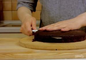 Торт шоколадно-карамельный - фото шаг 4