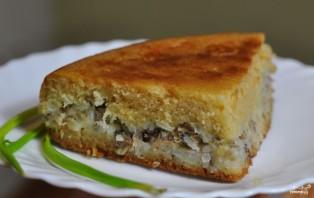 Пирог из сайры с рисом - фото шаг 6