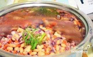 Итальянский суп с фасолью - фото шаг 6