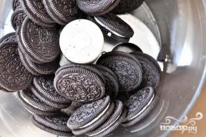 Шоколадные пирожные со сливочной начинкой - фото шаг 2