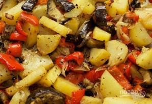 Овощи, запеченные в духовке - фото шаг 10