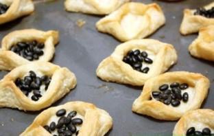 Тарталетки с сыром и чесноком - фото шаг 3