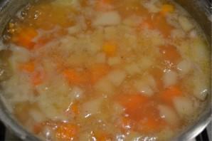 Чечевичный суп в хлебе - фото шаг 4