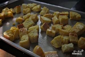 Суп из брокколи с крутонами - фото шаг 2