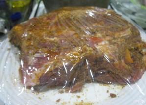 Свиная шейка в духовке - фото шаг 4