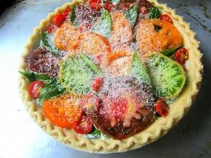 Пирог с рикоттой и помидорами - фото шаг 2