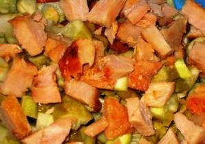 Салат из тушеной моркови - фото шаг 5