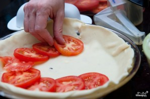 Пирог с помидорами - фото шаг 6