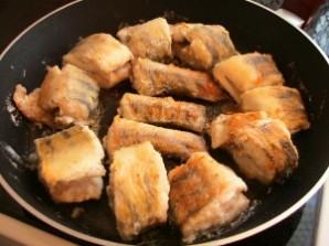 Рыба под маринадом из тушеных овощей - фото шаг 3
