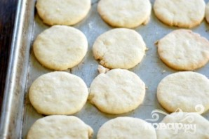 Печенье с кремом мокко и орехами - фото шаг 2