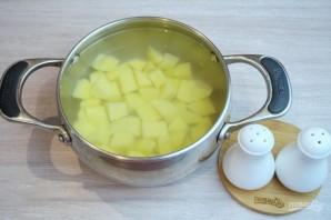 Суп с фасолью и лапшой - фото шаг 2