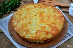 Запеканка из тертого картофеля с сыром и чесноком - фото шаг 9