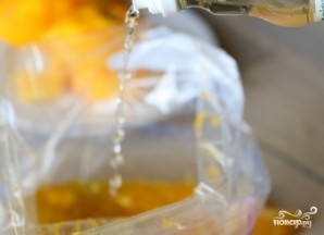 Апельсиновый соус к рыбе - фото шаг 4