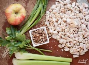 Диетический салат с индейкой - фото шаг 1