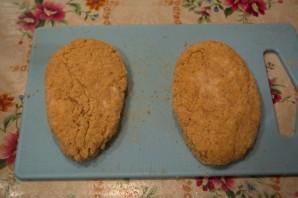 Куриные котлеты с батоном - фото шаг 5