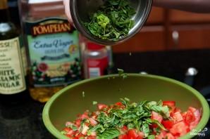 Брускетта с томатами - фото шаг 3