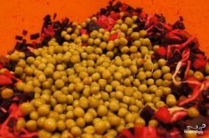 Винегрет с квашеной капустой - фото шаг 5