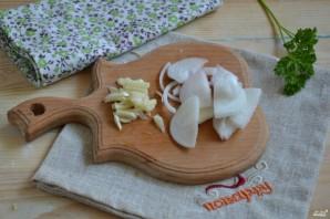 Маринованная капуста с овощами - фото шаг 4