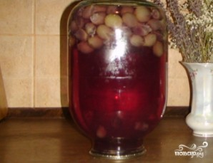 Компот из винограда на зиму - фото шаг 6