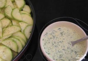 Картофель с фаршем и кабачками - фото шаг 4